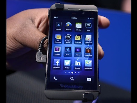 El BlackBerry Z10